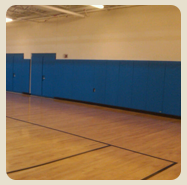 custom padding options for indoor facilities