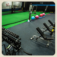 rubber flooring options for indoor facilities
