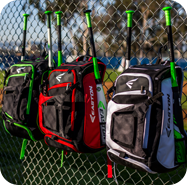 baseball equipment bags