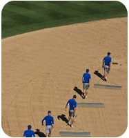 Drag Mats, Field Rakes and Tamps for Baseball and Softball Fields from On Deck Sports