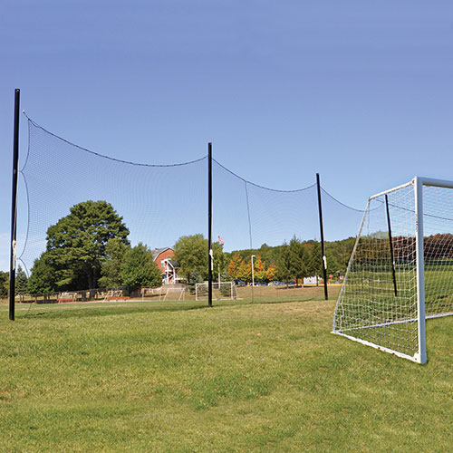 Soccer Barrier Netting System