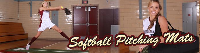 Softball Pitching Mats