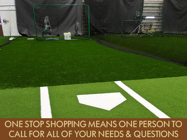 The farm baseball softball training facility images for Design indoor baseball facility