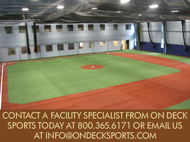 indoor facility design ForDesign Indoor Baseball Facility