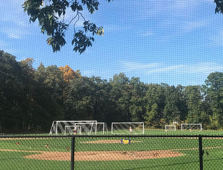 Custom Backstop Netting