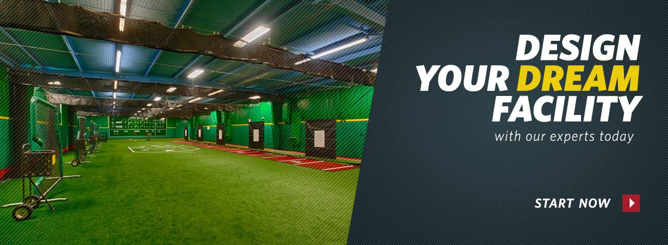 On deck sports call on deck sports 800 365 6171 for Design indoor baseball facility