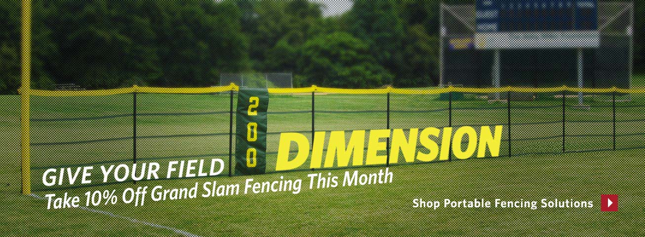 10% Off Portable Fencing Solutions & Grand Slam Fencing
