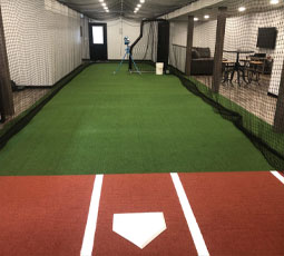 On Deck Sports Featured Project - Basement Batting Cage