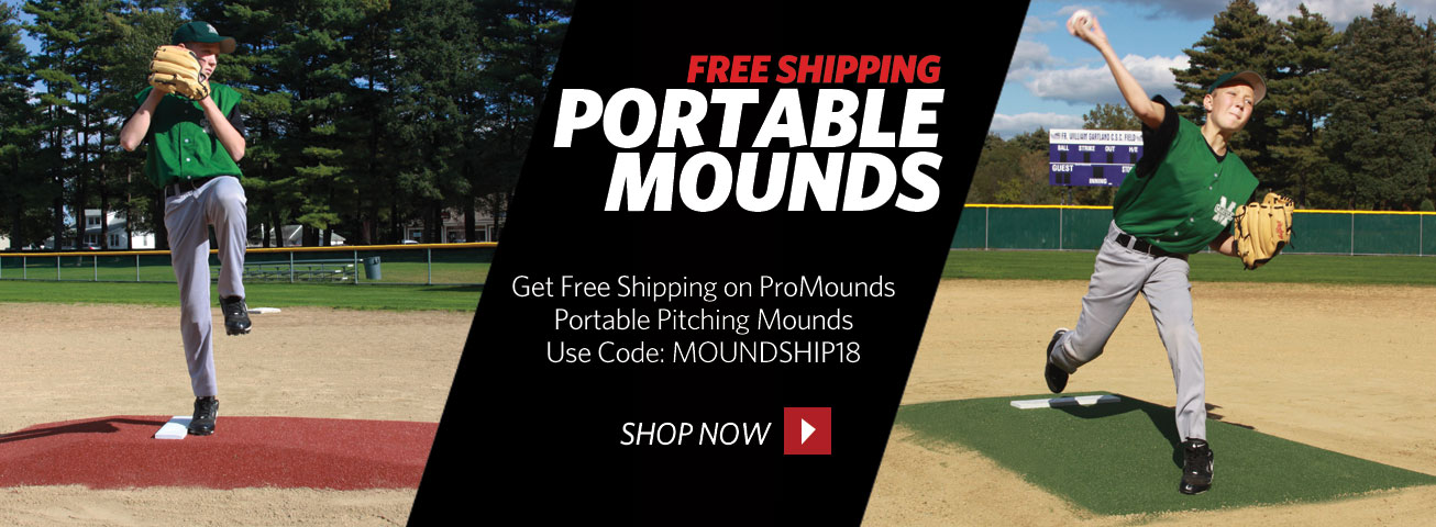 Free Shipping On ProMounds Portable Mounds