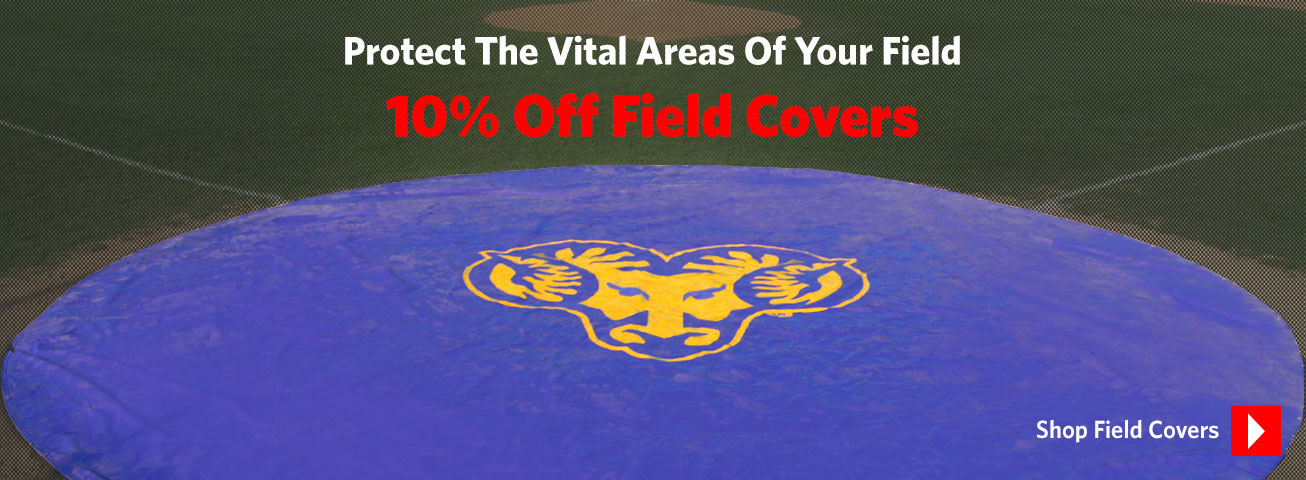 10% Off Field Covers & Spot Covers From On Deck Sports