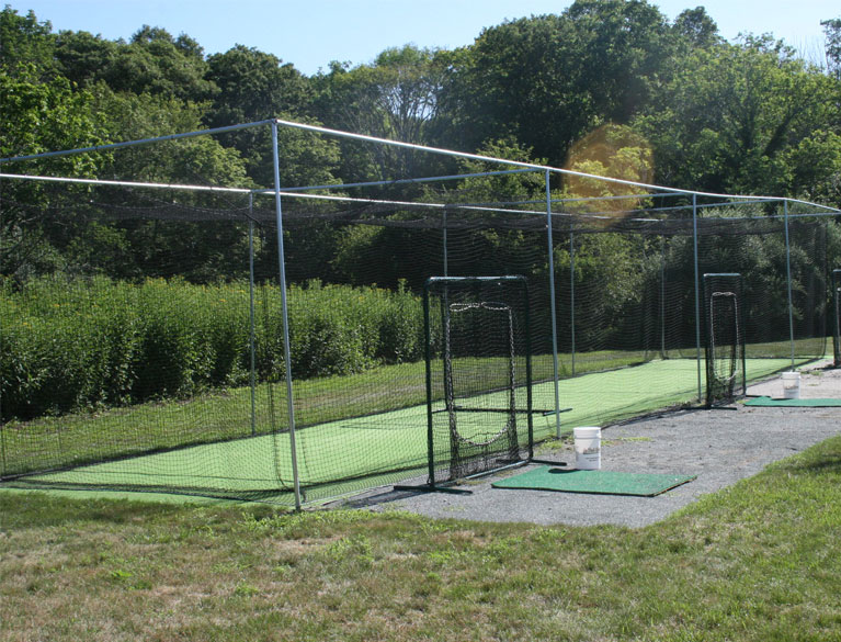 Batting Cage Turf On Deck Sports - Backyard batting cages for sale