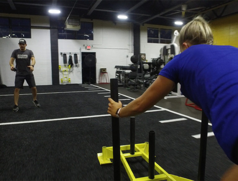 Athletic Movement Protocol Gym Turf